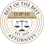 Best of the Best - Top 10 Personal Injury Attorneys 2020