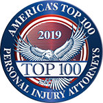 America's Top 100 Personal Injury Attorneys Shield