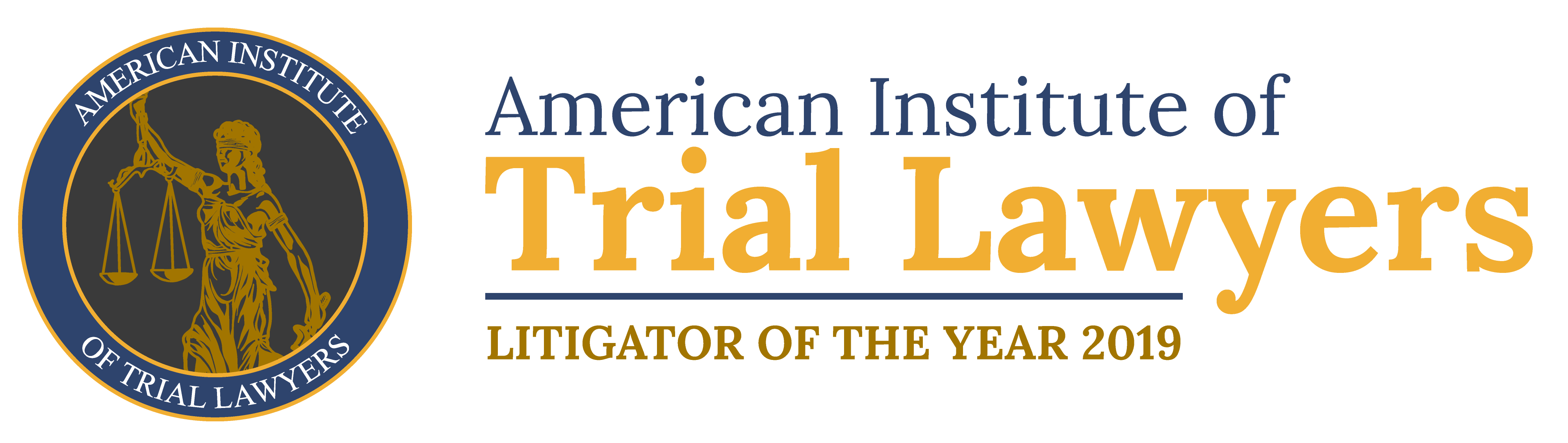 American Institute of Trial Lawyers | Litigator of the Year